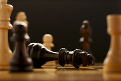O jogo de xadrez Imagens de Stock Royalty Free