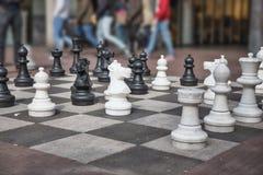 O jogo de xadrez Fotos de Stock