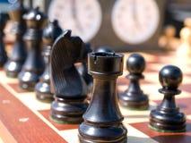 O jogo de xadrez faz o movimento direito imagem de stock royalty free