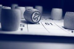 O jogo do bingo Foto de Stock