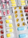O jogo dos comprimidos Fotografia de Stock Royalty Free