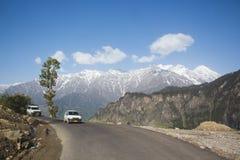 O jouney de Himachal com emoção imagens de stock