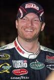 O Jr Motorista de NASCAR imagens de stock royalty free