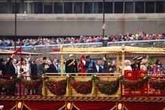 O jubileu de diamante da rainha Imagem de Stock Royalty Free