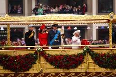 O jubileu de diamante da rainha fotos de stock royalty free