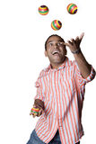 O juggler Fotografia de Stock Royalty Free