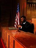 O juiz imagem de stock