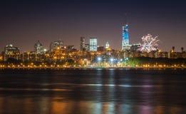 4o julho em NYC Imagem de Stock