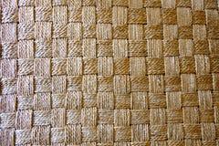O junco do weave por feito a mão Foto de Stock