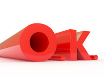 O.K. Royalty Free Stock Images