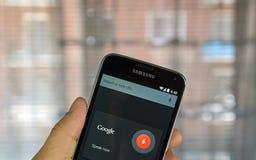 O.K. Google app Royalty-vrije Stock Afbeelding