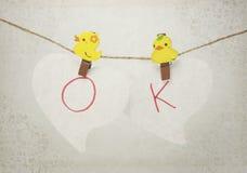O.K. Nota Stock Foto's