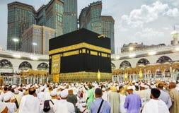 O Kaaba santamente, Makkah, Arábia Saudita Imagens de Stock Royalty Free