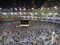 O Kaaba santamente, Makkah, Arábia Saudita Fotos de Stock