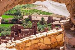 O Kasbah Ait Ben Haddou em Marrocos Imagem de Stock Royalty Free