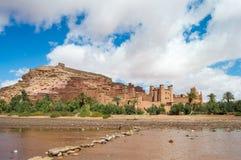O Kasbah Ait Ben Haddou em Marrocos Imagens de Stock Royalty Free