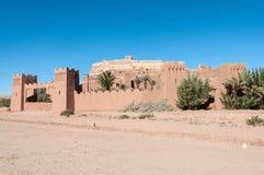 O Kasbah de AIT Benhaddou, Marrocos Foto de Stock Royalty Free