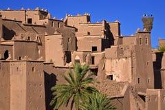 O kasbah de Ouarzazate Fotografia de Stock Royalty Free