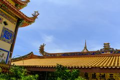 O Kek Lok Si Temple Budd Penang Malásia imagens de stock royalty free
