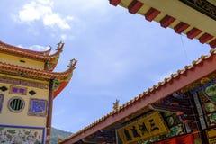 O Kek Lok Si Temple Budd Penang Malásia fotografia de stock