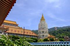 O Kek Lok Si Temple Budd Penang Malásia fotos de stock royalty free