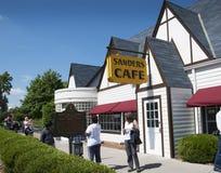 O Kentucky original Fried Chicken Cafe em Corbin Kentucky EUA Foto de Stock Royalty Free
