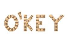 O'KEY Imagenes de archivo
