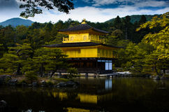 O Kinkakuji Pavillion Foto de Stock