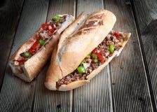 O kokoretsi cozinhado Imagem de Stock