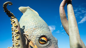 O Kraken imagens de stock royalty free