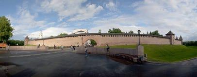 O Kremlin de Velikiy Novgorod foto de stock royalty free