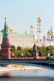 O Kremlin, Moscovo Imagens de Stock