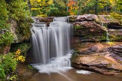 O Kun de Kun Falls Autumn Stock Photo