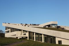 O Kunstmuseum de ARoS Aarhus Imagem de Stock Royalty Free