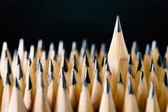 O lápis colocado Foto de Stock Royalty Free