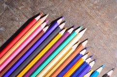 O lápis da cor Fotos de Stock Royalty Free
