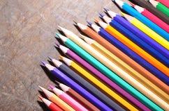 O lápis da cor Fotografia de Stock Royalty Free