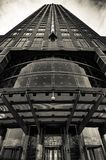 O lápis do ` de Messeturm do ` em Francoforte - am - cano principal, Alemanha Fotos de Stock Royalty Free