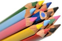 O lápis impar Foto de Stock