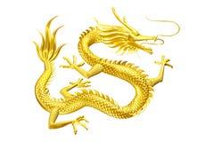 O líder afortunado do dragão dourado vem-lhe com família e amigos ilustração royalty free