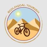 O lúpulo em sua bicicleta e seja saudável Imagens de Stock