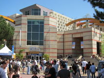 O LA cronometra o festival dos livros 2 Foto de Stock