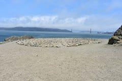 O labirinto na extremidade San Francisco das terras, 3 fotografia de stock