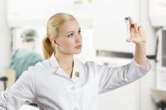 O laboratório médico Imagens de Stock