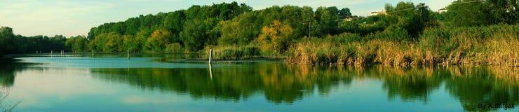 O lago Fotografia de Stock