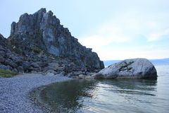 O Lago Baikal Imagens de Stock