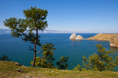 O Lago Baikal Imagem de Stock