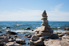 O Lago Baikal em Rússia Fotos de Stock Royalty Free