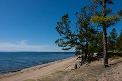 O Lago Baikal em Rússia Imagens de Stock