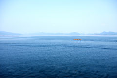 O lago bonito Imagem de Stock Royalty Free